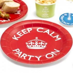 Πιάτα Keep Calm