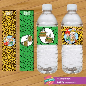 Water Label FLINTStones