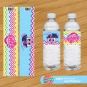 Water Label My Little Pony