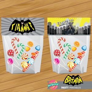 Bag topper Batman