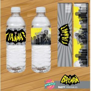 Water Label Batman