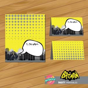Food Labels Batman