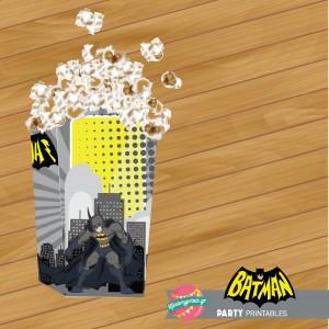 Popcorn box Batman