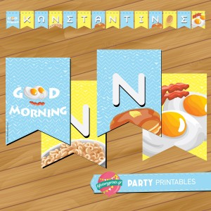 Banner Breakfast Party