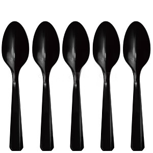 Κουτάλια μαύρα