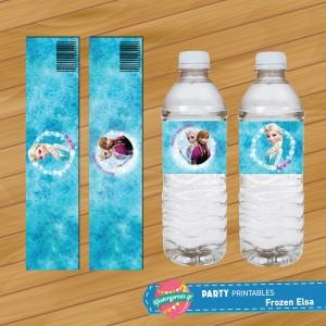 Water Label Frozen