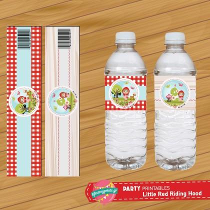 Water Label κοκκινοσκουφίτσα