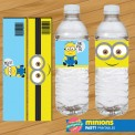 Water Label Minions