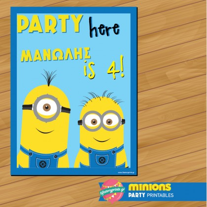 Poster Minion