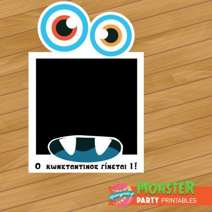 Photobooth frame Monster