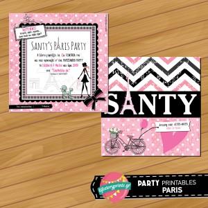 Πρόσκληση Paris Party