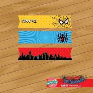 Μίνι σημαιάκια flags Spiderman