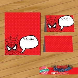 Food Labels Spiderman