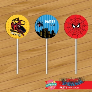 Toppers Spiderman