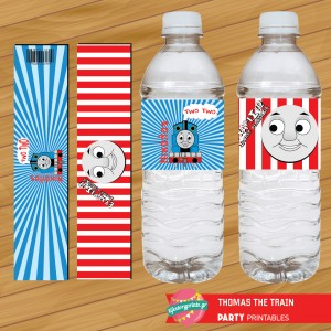 Water Label Thomas the train