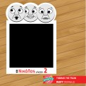 Photobooth frame Thomas the train